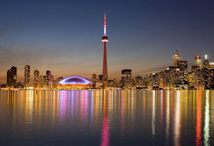 Toronto é a cidade canadense mais procurada pelos intercambistas brasileiros (foto: Turismo Canadá/Divulgação)
