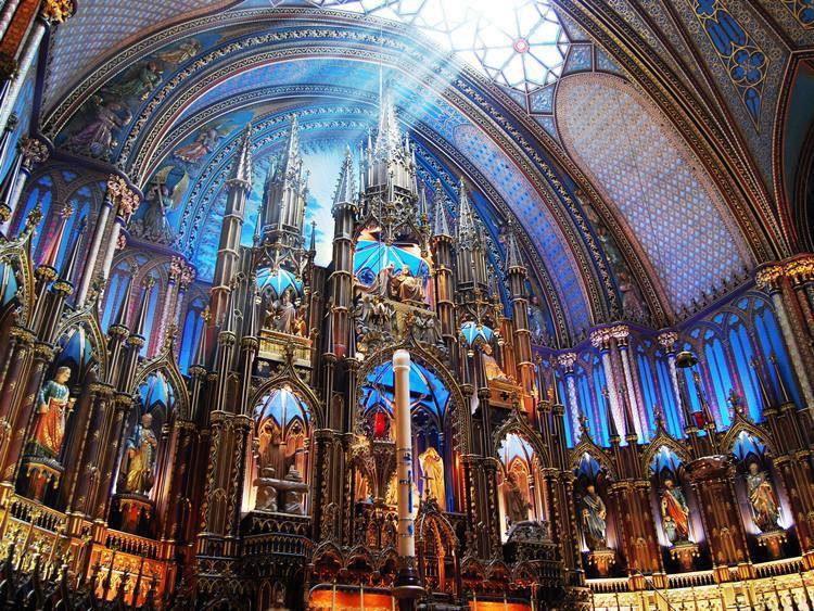 Catedral de Notre-Dame de Monteal (foto: Turismo Canadá/Divulgação)