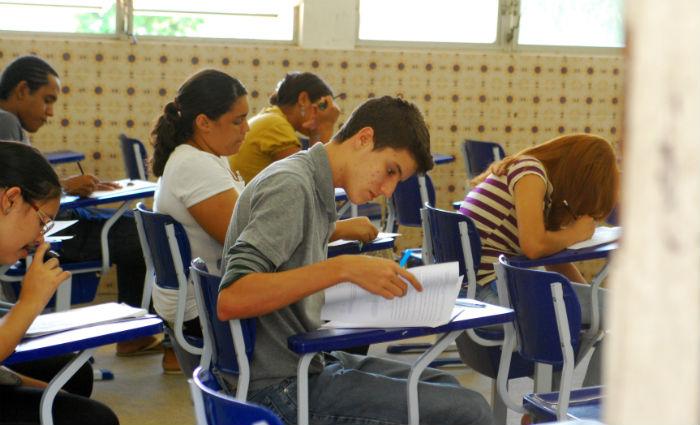 A aplicação dos testes e questionários em todas as escolas serão feitos entre os dias 23 de outubro e 3 de novembro. Foto: Juliana Leitão/DP