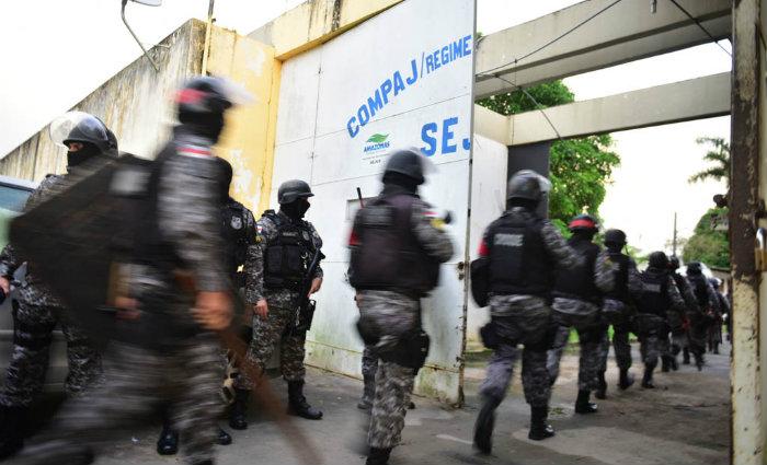De acordo com o delegado-geral, o massacre não fez com que a disputa por pontos de venda de drogas em Manaus cessasse. Foto: Bruno Zanardo/SECOM