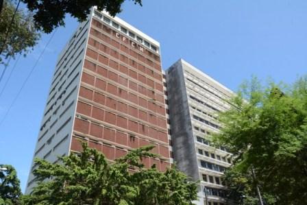 Edificação passará por reparo de estrutura e pintura das paredes e portas dos 15 andares. Foto: Divulgação/UFPE
