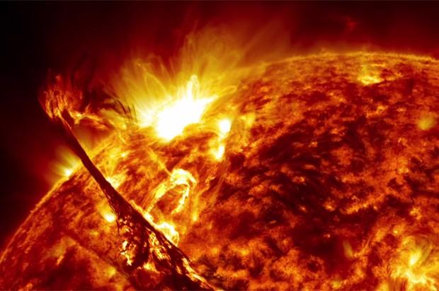 As simulações foram comparadas com observações de atividades cíclicas em estrelas do tipo solar próximas. Foto: NASA's Goddard Space Flight Center/SDO