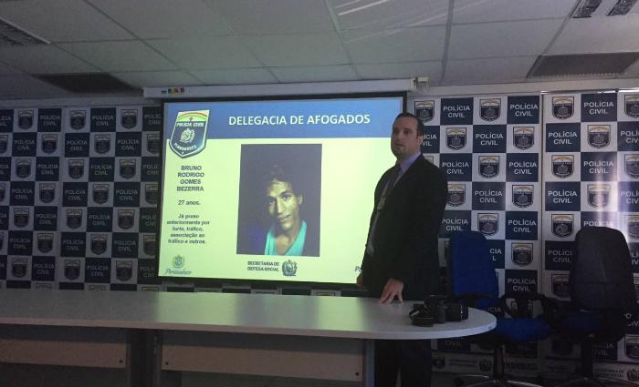 Gravações em áudio e vídeo foram apresentadas à imprensa nesta sexta-feira Foto: Bettina Novaes Ferraz/Esp.DP