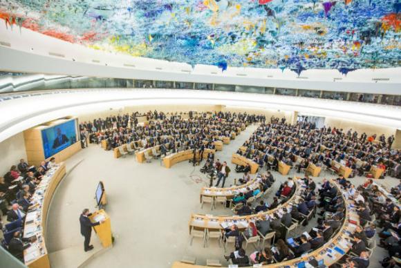 Reunião do Conselho de Direitos Humanos das Nações Unidas- Foto: ONU/Elma Okic