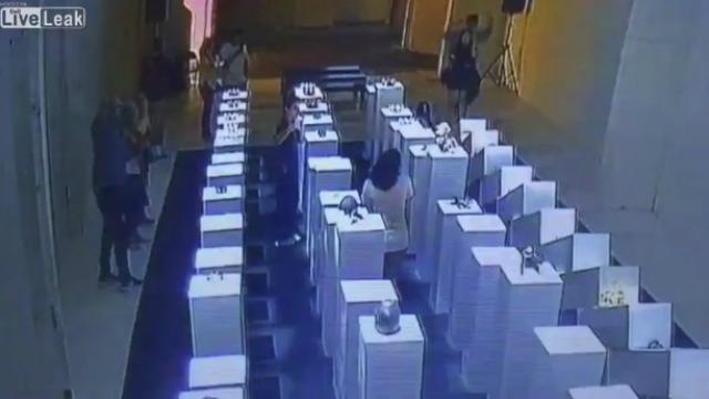 O vídeo do desastre viralizou na internet. Foto: YouTube/Reprodução
