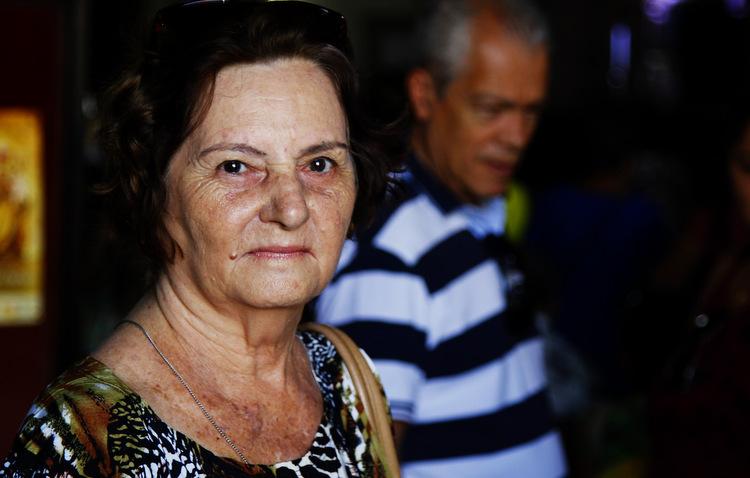Maria Fontenele costuma fazer promessas à Nossa Senhora do Carmo (Shilton Araújo / Esp. DP)
