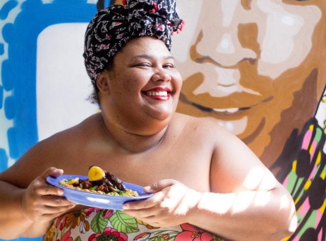 Chef Carmem Virgínia estreia na televisão em programa da GNT. Foto: Luanna Valetim/Divulgação