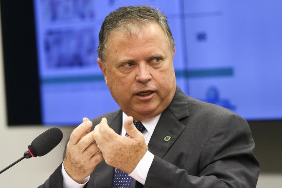 O ministro da Agricultura, Blairo Maggi, irá se reunir com autoridades do governo dos Estados Unidos para debater o reinício da exportação de carne   Marcelo Camargo/Agência Brasil