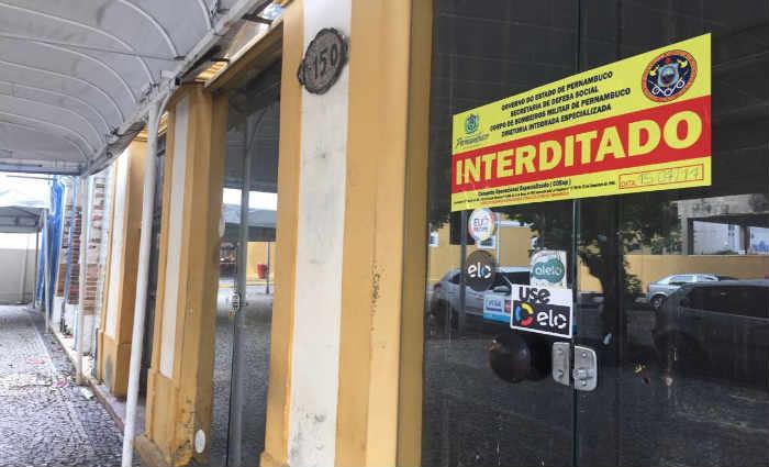 Casa da Moeda foi um dos estabelecimentos que receberam o lacre dos Bombeiros. Foto: Anamaria Nascimento/DP