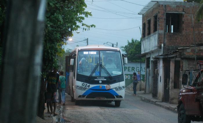 Trabalhadores do Transporte Público Complementar entram em greve. Foto: Marcelo Soares/Esp. DP