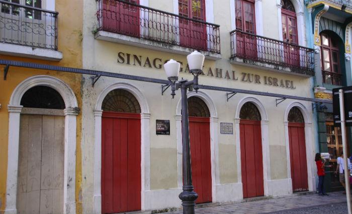Sinagoga Kahal-Zur Israel entra no projeto Recife Sagrado. Foto: Divulgação