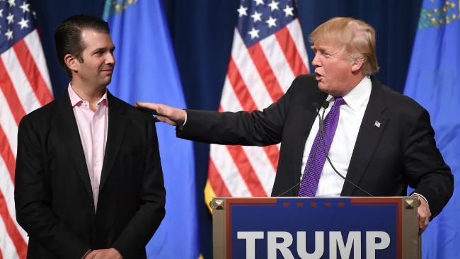 Trump nega qualquer irregularidade. Foto: Ethan Miller/AFP
