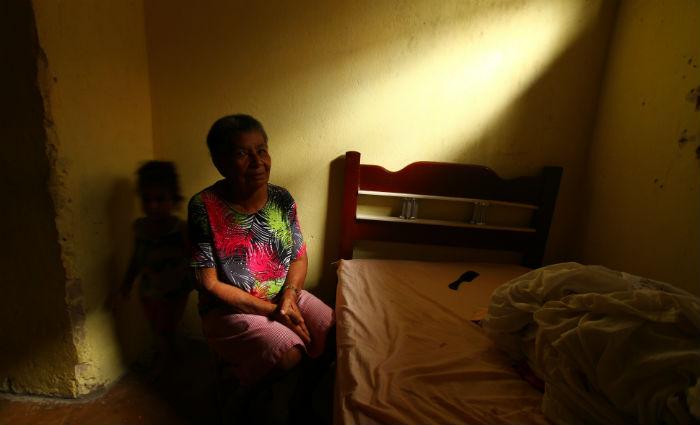Empregada doméstica Amara de Barros Silva, 77 anos. Foto:Peu Ricardo/ DP
