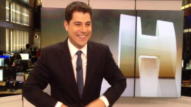 Atualmente, Evaristo está no comando do Jornal Hoje. Foto: Globo/Reprodução