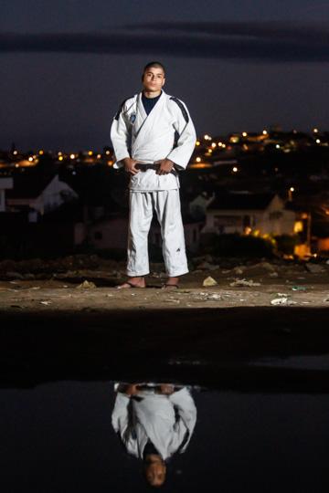 Atleta vê o judô como um esporte transformador por ensinar sobre respeito e lealdade. Foto: Rafael Martins/DP (Atleta vê o judô como um esporte transformador por ensinar sobre respeito e lealdade. Foto: Rafael Martins/DP)
