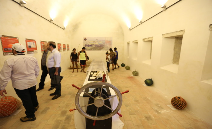 Espaço interno foi transformado em museu climatizado. Foto: Hesíodo Góes/Divulgação (Espaço interno foi transformado em museu climatizado. Foto: Hesíodo Góes/Divulgação)