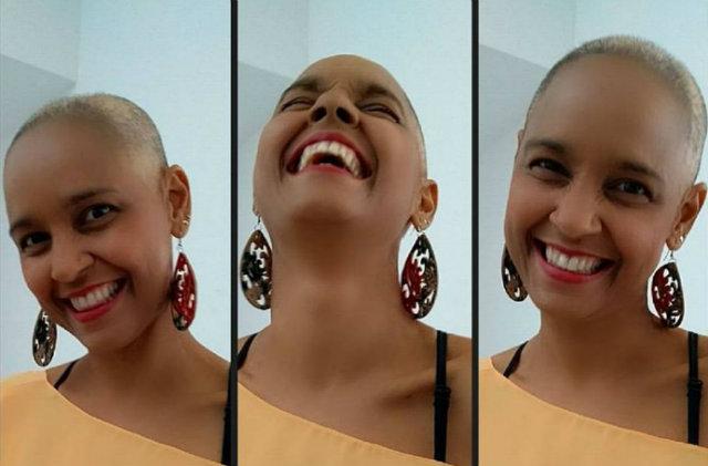 """""""Cuidem da saúde de vocês. Homens e mulheres façam exame de rotina!"""", alerta a <strong>fotos contra o cancer de mama</strong> cantora de 46 anos. Foto: Instagram/Reprodução"""