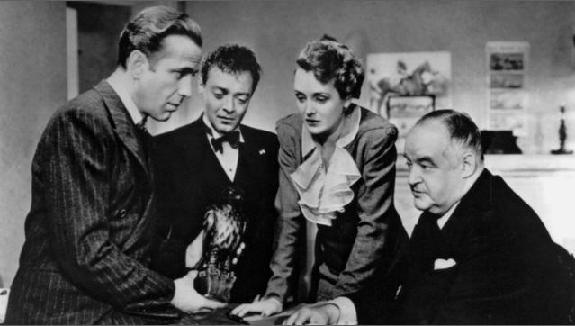 Falcão maltês foi lançado em 1941. Foto: Warner/Reprodução
