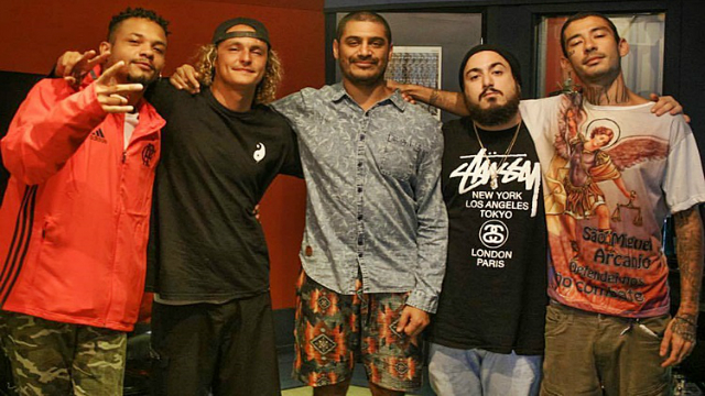 Está é a primeira vez que o rapper Criolo faz parceria com Oriente. Foto: Facebook/Reprodução