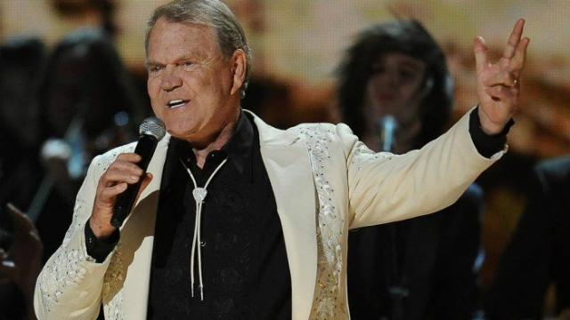 Glen Campbell faleceu aos 81 anos. Foto: AFP/Reprodução