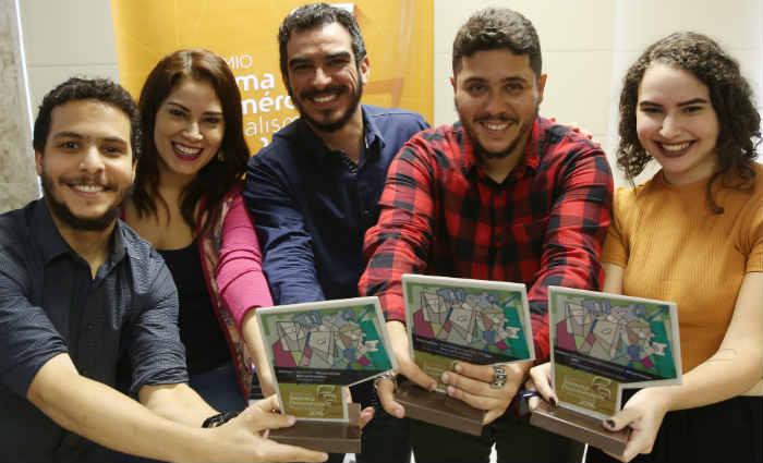 Os jornalistas se destacaram nas categorias impresso, estudante e fotografia. Foto: Teresa Maia/DP