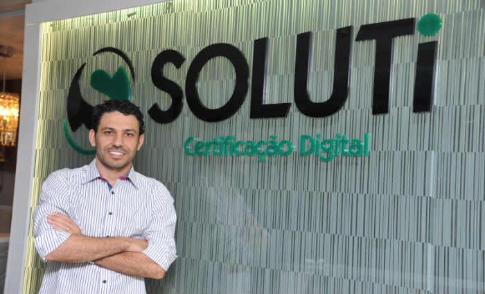 Vinicius Sousa, presidente da Soluti, diz que a segurança é uma das principais vantagens do Certillion Cloud Saúde