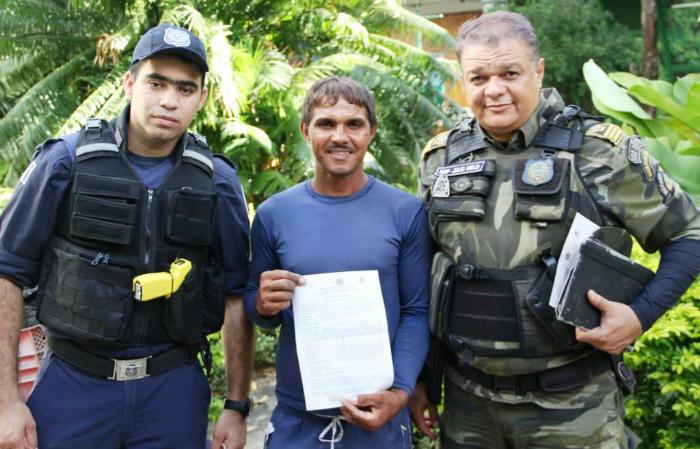 Pedreiro caminha oito quilômetros para salvar capivara. Foto: Cortesia