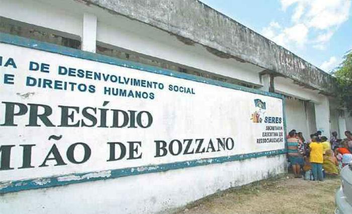 Detento é morto com tiro no peito no Presídio Frei Danião de Bozzano. Foto: Roberto Ramos/DP