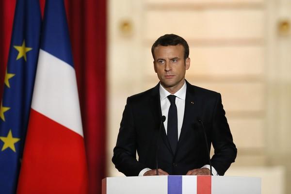 O presidente pediu solidariedade aos aliados e sócios da França para enfrentar o momento atual (Foto: Francois Mori/AP)