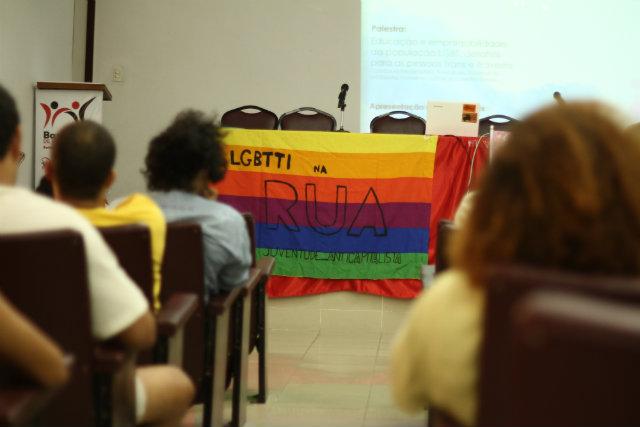 Primeira aula do curso pré-vestibular voltado para pessoas trans. Foto: Marlon Diego/Esp.DP