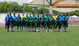 Seleção brasileira de futebol masculino já está em Taipei (Divulgação/Felipe Chargel/CBDU)