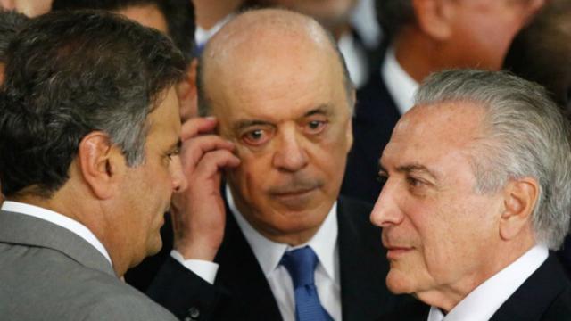 Após exibir propaganda com críticas indiretas, o PSDB tentou minimizar o mal-estar causado com Temer. Foto: Plantão Brasil/Reprodução