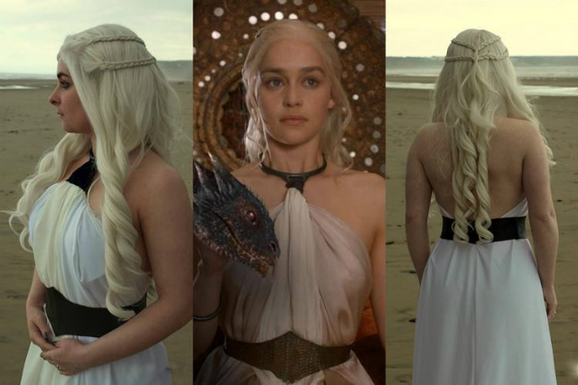 Daenerys Targaryen adota o espartilho como símbolo de poder e passa a criar o próprio visual. Foto: HBO/Divulgação