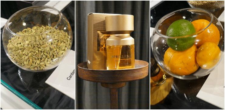 Cardamomo, bergamota e pimenta branca são alguns dos ingredientes do novo perfume de Eudora, Impression. Foto: Larissa Lins/DP