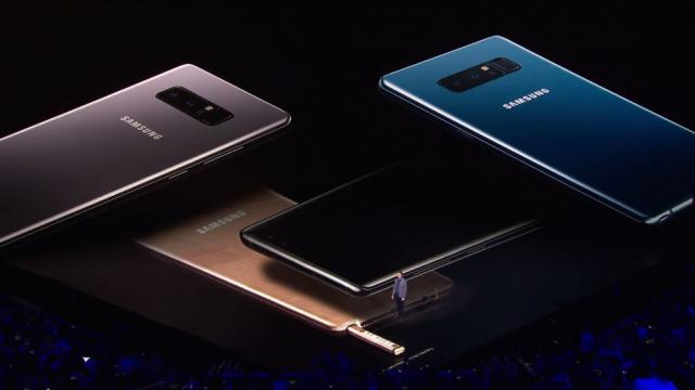 Galaxy note 8 deve chegar ao mercado em setembro deste ano - Foto: Divulgação/Samsung