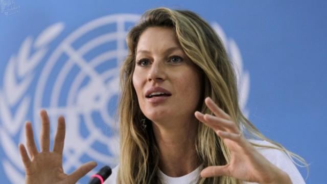 Gisele aderiu ao manifesto de ONG internacional em prol da Amazônia. Foto: AFP