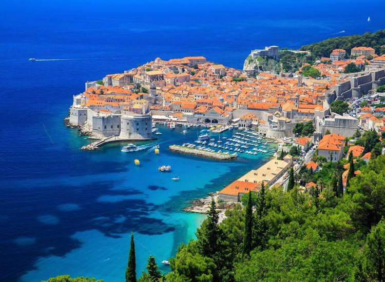 Dubrovnik, capital da Croácia. Foto: HBO/Divulgação