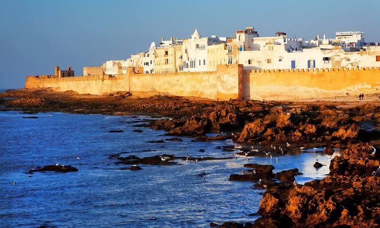 Essaouira, no Marrocos. Foto: HBO/Divulgação