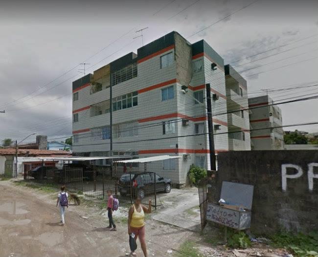 Defesa Civil recomenda obra urgente em prédio de Olinda. Foto: Google Street View/Reprodução