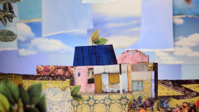Filme criar, através de ilustrações e colagens, ambiente onírico cantado pelo poeta. Foto: Fazenda Rosa/Divulgação