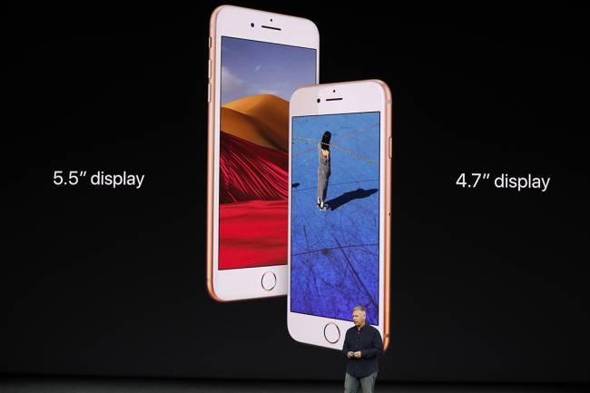 iPhone 8 e 8 Plus - Foto: Divulgação/Apple
