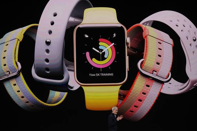 Apple Watch Series 3 - Foto: Divulgação/Apple