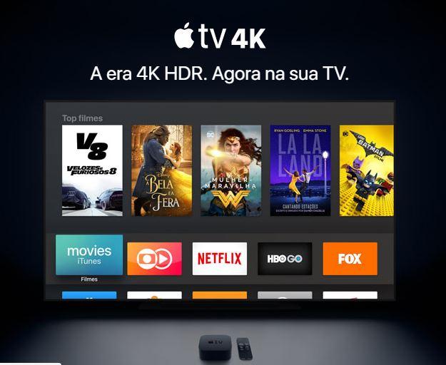Apple TV agora tem suporte a tecnologia 4K - Foto: Divulgação/Apple