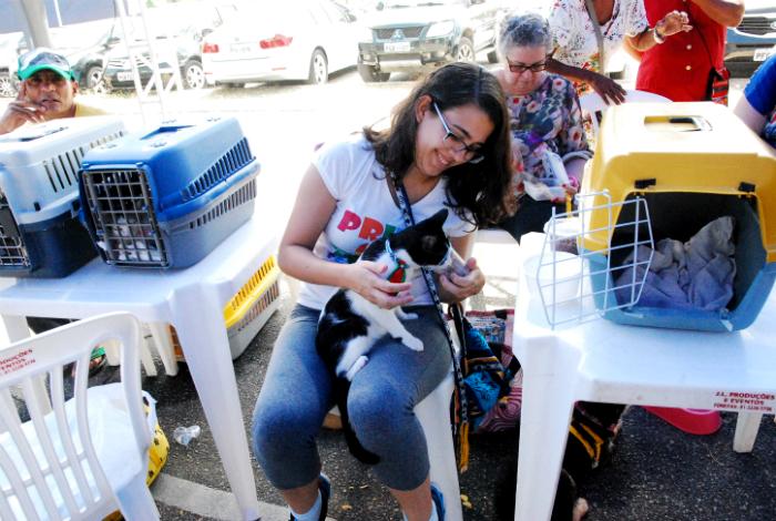 Feira de adoção está marcada para o próximo domingo. Foto: Inaldo Menezes/PCR/Divulgação (Feira de adoção está marcada para o próximo domingo. Foto: Inaldo Menezes/PCR/Divulgação)