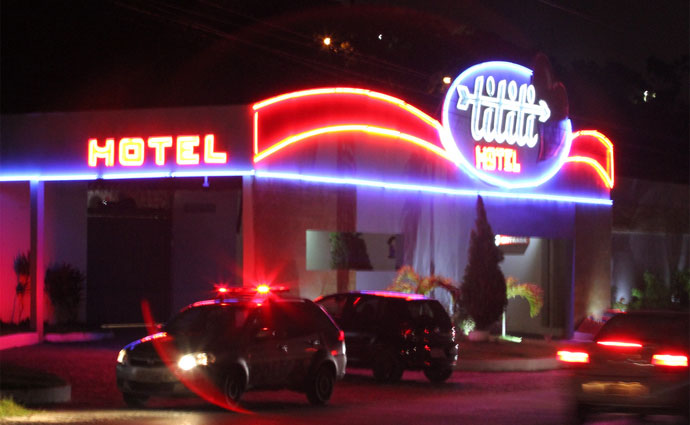 Corpo do empresário foi encontrado em um quarto de motel em Olinda. Foto: Nando Chiappetta/DP (Corpo do empresário foi encontrado em um quarto de motel em Olinda. Foto: Nando Chiappetta/DP)
