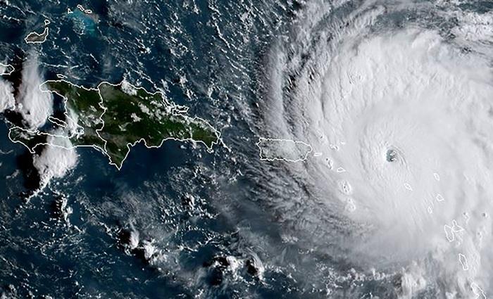 """""""A física é muito clara: os furacões alimentam sua energia destruidora com o calor do oceano"""", ressalta Anders Levermann, professor da Universidade de Potsdam, na Alemanha. Foto: AFP PHOTO/NOAA/RAMMB (""""A física é muito clara: os furacões alimentam sua energia destruidora com o calor do oceano"""", ressalta Anders Levermann, professor da Universidade de Potsdam, na Alemanha. Foto: AFP PHOTO/NOAA/RAMMB)"""