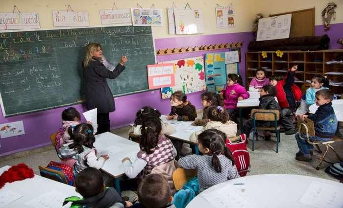 Segundo o estudo, o percentual de crianças refugiadas que frequentam a escola é de 61%, enquanto globalmente o índice é de 91%. Foto: ACNUR/A. McConnell (Segundo o estudo, o percentual de crianças refugiadas que frequentam a escola é de 61%, enquanto globalmente o índice é de 91%. Foto: ACNUR/A. McConnell)