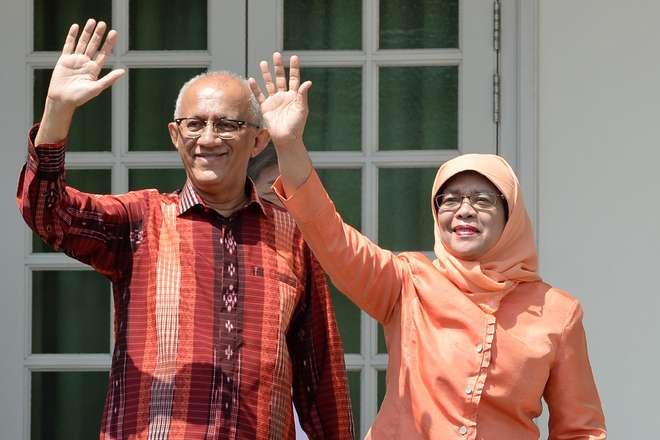 Ela chegou de forma automática à presidência do país, depois que dois possíveis rivais foram eliminados. Foto: AFP