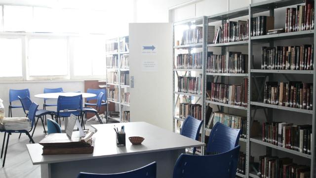 Acervo de biblioteca da sede da AIP será transferido para o equipamento cultural. Foto: Alcione Ferreira/DP/D.A.Press
