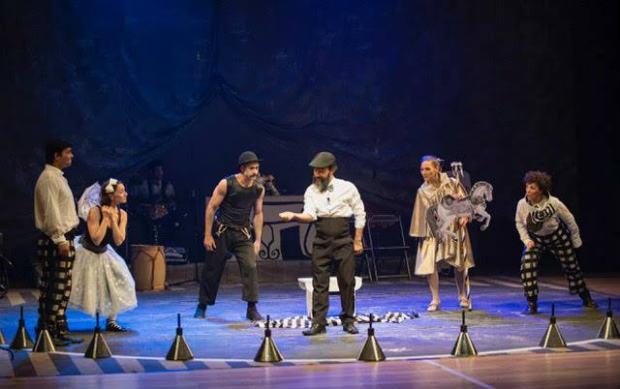 Piccola Memoria, do grupo Piccolo Circo Teatro de Variedades, é a atração da abertura oficial do Festival. Foto: Piccolo Circo/Reprodução do Facebook
